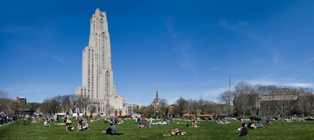 Cathedral of Learning, University of Pittsburgh by Eric Arnau https://flic.kr/p/oh8E8G